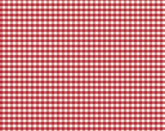 Simple Gingham - Fabric From Riley Blake - Red - One Yard - 8.95 Dollarsy