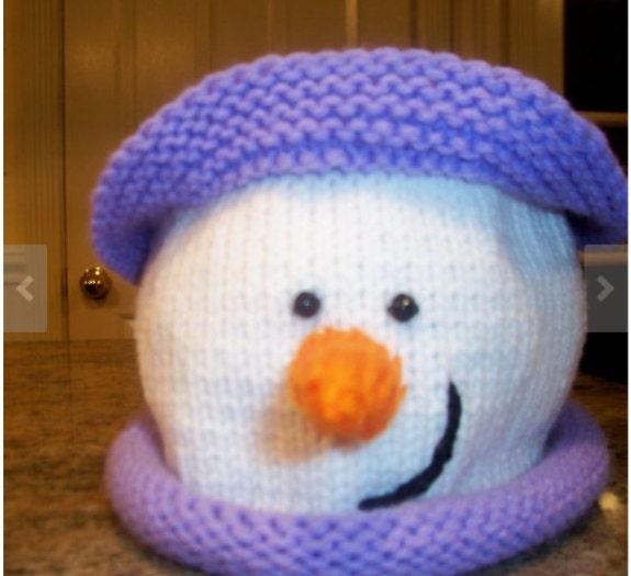 Baby Girl Boy Snowman Hat Pattern / Knit your own Snowman Hat