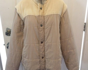 Vintage womens 1980's fall/winter jacket. Size large