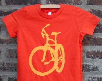 Mountain Bike Summer Kid's Bicycle T - Kids bike t shirt -bicycle t shirt - cycling t shirt- velo mtb t shirt cycling art t shirt tshirt