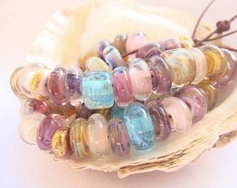73 Handmade Lampwork Beads