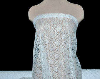 Raschel Lace fabric,  wedding, formal wear, pageant.. crafts..appliques, home decor, overlays, canopies, bridal