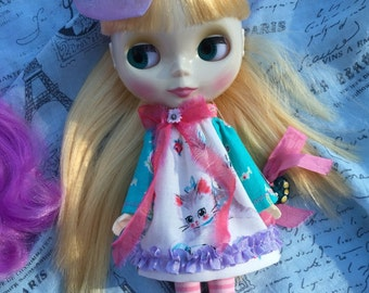Holiday SALE...Blythe Dolls.. New Kitten Dresses....Please..Choose ONE!!!.. Handmade and Ooak!!