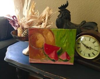 Oil painting, fine art, still life