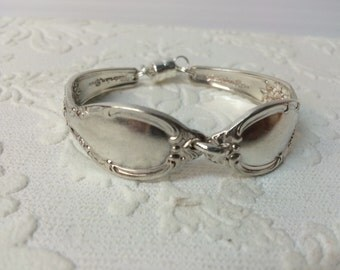 Vicorian Rose Spoon Handle Bracelet