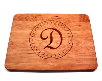 Unique Anniversary Gift, Bridal Shower Gift, Wedding Gift, Personalized Cutting Board,  Large Cutting Board, Monogram cutting board,