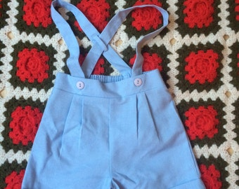 Baby Blue Shorts 9/12 Months