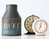 Vintage Coffee Tin, Deluxe Schlueter, St. Loius, MO