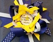 Personalized Boutique bows for Estrella Elementary