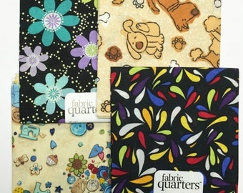 Fat quarter fabric - Sewing Dog Floral