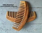 A Fine Historical Sandalwood Wide Toothed Comb- Detangling