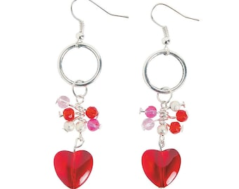 Wire Heart Earrings