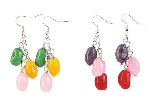 Jelly Bean Earrings
