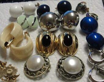 Clearance Sale of Clip Earrings