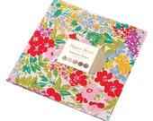 "Moda Regent Street Lawn 2015 Layer Cake 10"" Precut Fabric Quilting Cotton Squares Sentimental Studios 33080LC"