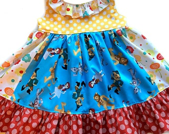 Wizard of Oz dress Dorothy by pink momi boutique