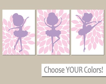 Ballerina Wall Art kiss me goodnight wall art baby girl nursery wall art girl