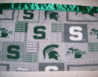 Michigan State Blanket