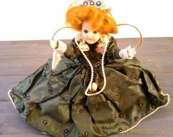 Nancy Ann Story Book Doll 8 inches tall Circa 1950's
