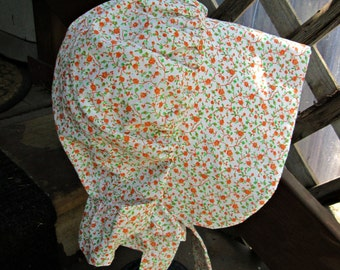 Pioneer bonnet /  Girls Large/Teen/Adult Prairie bonnet..PLEASE read details inside of ad.