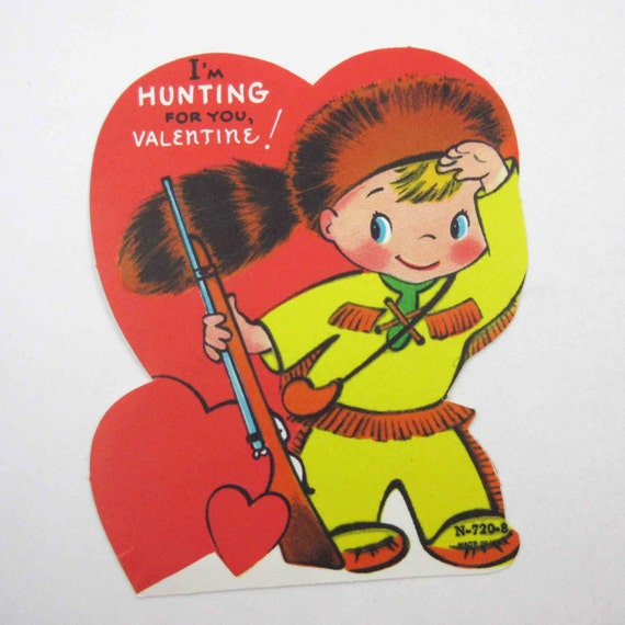 valentines day vintage hunting cards | valentine's day wikii, Ideas