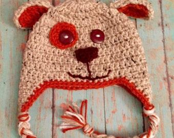 Puppy Crochet Hat
