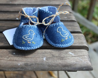 Little Chick Booties