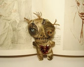 Handmade Art Doll ( Baby Voodoo)