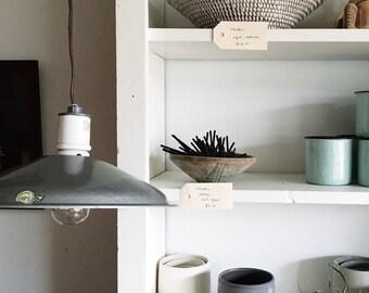 Vintage Mid Century Industrial Pendant Lamp