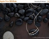 Valentines Day Sale Sterling Silver Horizontal Branch Necklace   Sterling Silver Necklaces