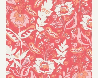 30% OFF Reminisce Wonderment Teaberry - 1/2 Yard