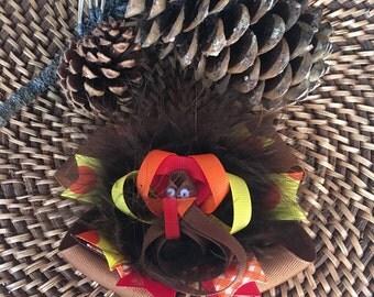 Turkey Boutique Hair Bow