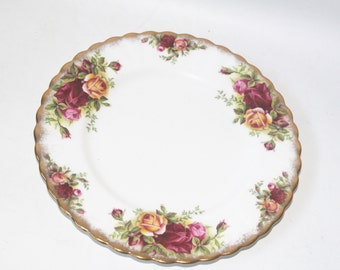 Royal Albert Old Country Roses Dish Plate Bone China England