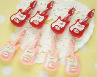 SALE 6 pcs Guitar Cabochon (16mm39mm) DR345