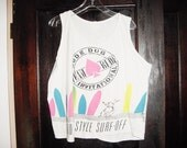 Vintage 90s Rude Dog Surf Tank Top XL Bigger Freestyle