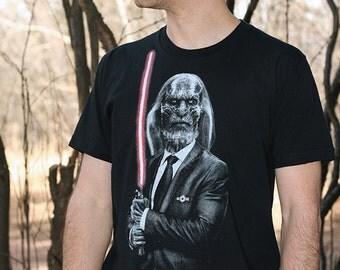 Dark side walker - Game of thrones t shirt , Star wars mens t shirt ( White walker t shirt ) mens graphic t shirt