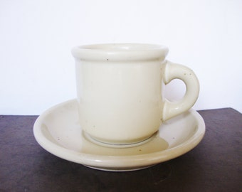 vintage trend pacific galaxy wheatstone stoneware cup and saucer mug