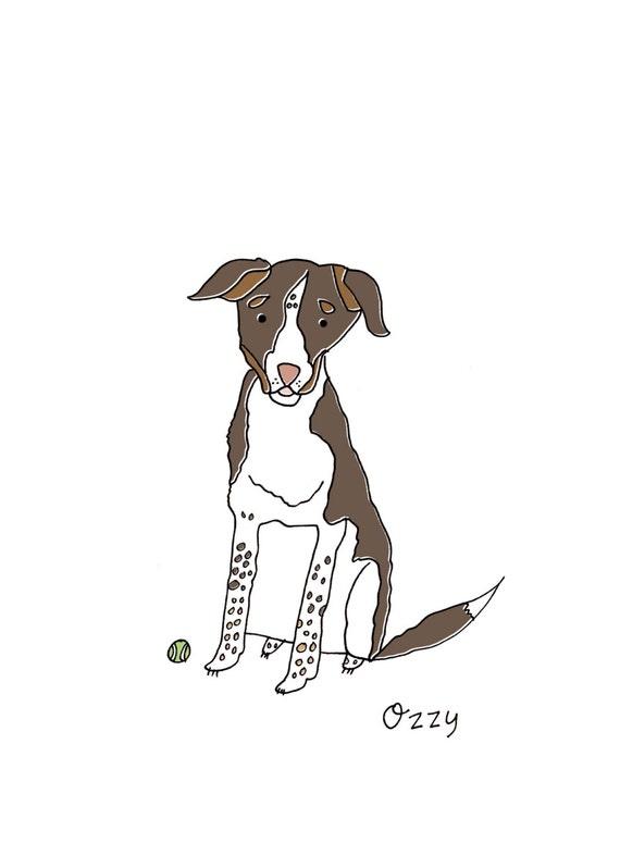 Custom Pet Doodle