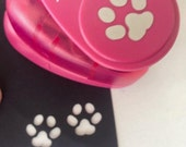 16mm Small Puppy Paw Prints Pets Hole Punch Shaper Scrapbooking Animal Cut Outs Small