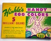 Hinkle's Handy Egg Colors - Easter Dying Kit - Vintage