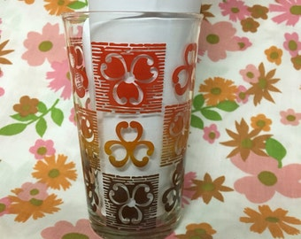 Clover Federal Drinking Glass
