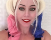 SALE // Harley Quinn Wig  //Harley Quinn Suicide Squad // Harley Quinn Costume Cosplay Halloween