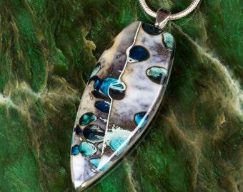 Fused Glass Pendant - BluDragonfly SRA - Fused Glass Pendant