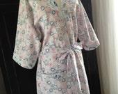 Women's cotton Kimono Style Robe