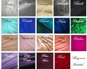 IN STOCK silk choices for your wedding clutch bridesmaids bridal