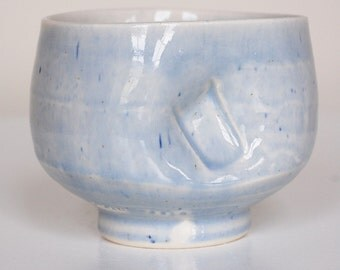cool blue chawan
