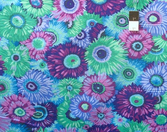 Philip Jacobs PWPJ079 Zany Purple Cotton Quilting Fabric By Yard