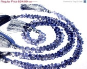 55% OFF SALE 1/2 Strand - Finest Quality Genuine Iolite Faceted Tear drop Briolettes 42 Pcs Size 5 - 6mm Approx Natural Stone Wholesale Pric