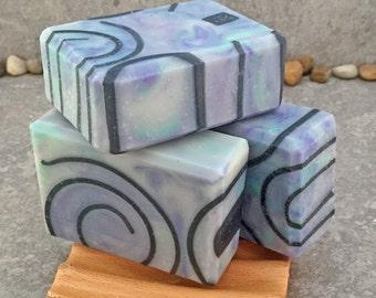 Citrus Sandalwood Artisan Cold Process Bar Soap