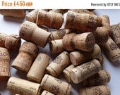 SUMMER SALE Used wine corks for upcycling - 25